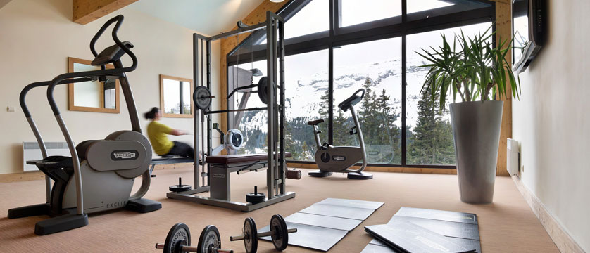 Terrasses d'eos fitness room